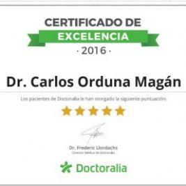 Dr Orduna excelencia en la cirugía de cataratas